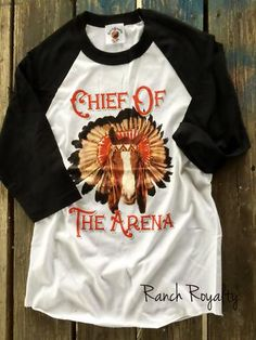 Chief of the Arena 3/4 Sleeve Tee