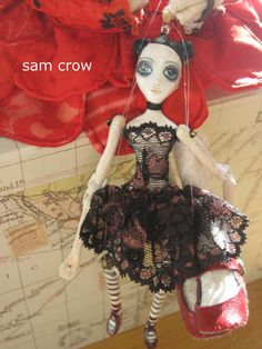Katia and her puppet (Sam Crow)