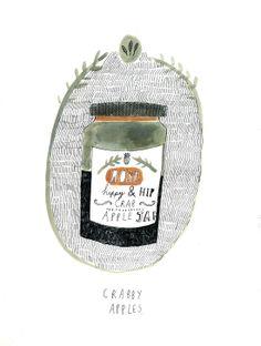 Recipe book illustration - Katt Frank