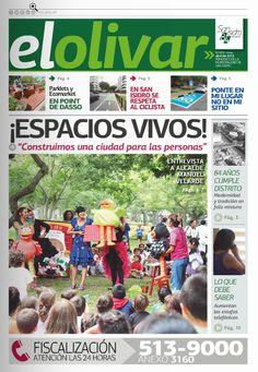 """Periódico """"El Olivar de San Isidro"""" N° 3 Abril"""