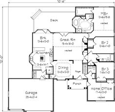 "****familyhomeplans.com: Plan 87339: pinned to ""floor plans"". Printed a copy & put in floor plans file."