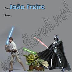 Etiqueta Star Wars 01  :: flavoli.net - Papelaria Personalizada :: Contato: (21) 98-836-0113 vendas@flavoli.net