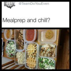 Meal prep sundays: Pumpkin Protein Pudding Kale Fettuccine Spicy Marinara Teriyaki Chicken with Brown Rice Kale Salad and Cake Batter Protein Waffles #fitmencook #muscleegg #kodiakcakes #mealprepsunday #mealprepandchill #sixpackbags #sixpackfitness #crossfit #eatlikeyougiveafuck #eattogain #eattraingain #crossfitlife #cfpb #cfpandorasbox by zgribb