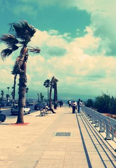 the Corniche - Beirut, Lebanon....in the Gulf and Lebanon they always have a corniche wonderful place to just hang and see the sea and the horizons...when peaceful..
