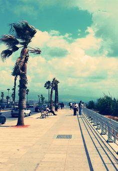 Beirut, Lebanon. Courniche.