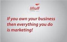 If you own your own business...
