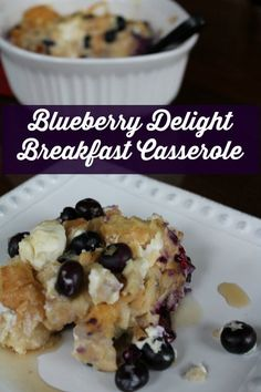 This Blueberry Breakfast Casserole is easy to make and filled with fresh blueberries. How can you not enjoy this Blueberry Delight Breakfast Casserole from Having Fun Saving and Cooking. #FreshFromFlorida #IC (ad)