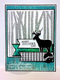 Stamping with Julie Gearinger: Happy Father's Day!