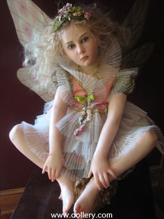*FAIRY ~ This is a doll by Jamie Williamson, The Dollery