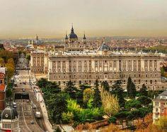Panorámica del Madrid de los Austrias