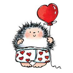 penny black digi stamps uk only Hedgehog Drawing, Hedgehog Art, Cute Hedgehog, Hedgehog Illustration, Cute Illustration, Tatty Teddy, Animal Drawings, Cute Drawings, Margaret Sherry