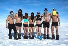 Alexander Skarsgård Strips Down (Again!) During South Pole Trip!