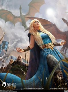 alex_negrea Daenarys Targaryen GoT
