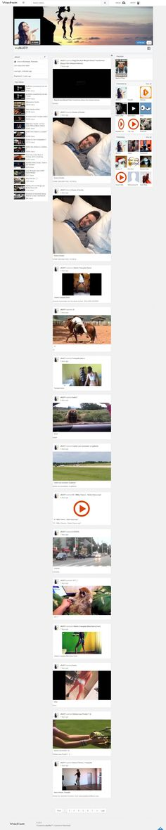 PHPVibe 3.6b Brasil theme: Facebook like profile layout for the video script