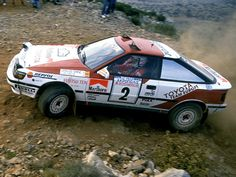 "luimartins: ""Sainz/Moya Toyota Celica GT Four Acropolis 1990 "" Toyota 2000gt, Japanese Sports Cars, Classic Race Cars, Expedition Vehicle, Trd, Rally Car, Car And Driver, Motor Car, Cars Motorcycles"