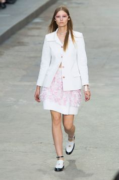 Chanel Spring/Summer 2015 runway show via @stylelist | http://aol.it/1yzvalJ