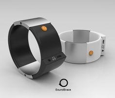 どこでもエアギターをプレイできる腕輪型ウェアラブルデバイス『Soundbrace』 | IDEA HACK