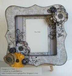 Simply Creating: CTMH Bracket Frame