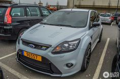 Grey Ford Focus RS Ford Rs, Mk1, Great Shots, Ford Focus, Wallpapers, Sport, Cars, Grey, Photo Illustration