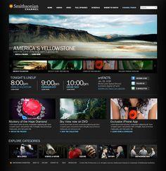 Web Design Served  Smithsonian Channel