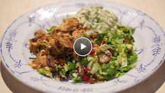 Couscoussalade met harissa-makreel - recept | 24Kitchen