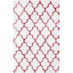 Safavieh Barcelona Anabelle Hand-Tufted Shag Area Rug, White