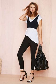 Pipe Down Leggings - Clothes