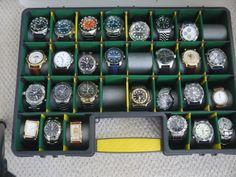 DIY Watch Storage Case Watch Holder, Watch Box, Watch Case, Watch Display, Display Case, Watch Storage Case, Diy Rack, Watch Organizer, Diy Phone Case