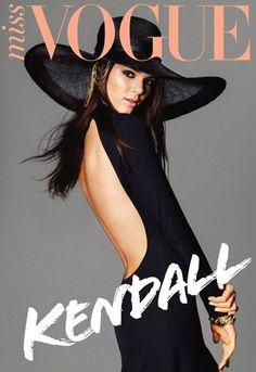 Kendall Jenner covers Miss Vogue Australia December 2012
