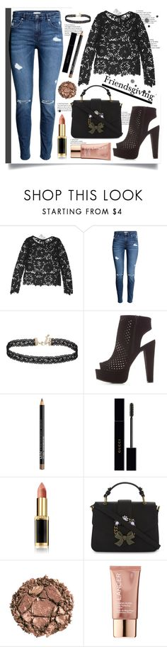 """""""Lace"""" by bitty-junkkitty ❤ liked on Polyvore featuring Divided by H&M, H&M, Miss Selfridge, Charlotte Russe, Gucci, L'Oréal Paris, ALDO, Urban Decay and Lancer Dermatology"""