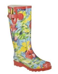 Target Floral Rain Boots