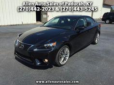 Used 2014 Lexus IS for Sale in Paducah KY 42001 Allen Auto Sales