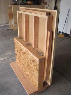 Foldout Workbench