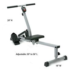 Rowing Machine Adjustabe Rower Body Regatta fun 5 minutes daily Exercise Rowing Boat with LCD Counter - http://rowingmachine.hzhtlawyer.com/rowing-machine-adjustabe-rower-body-regatta-fun-5-minutes-daily-exercise-rowing-boat-with-lcd-counter/