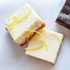 Tangy Lemon Cheesecake Bars | MyRecipes.com