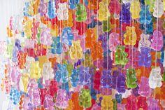 gummy bear art! #coloreveryday