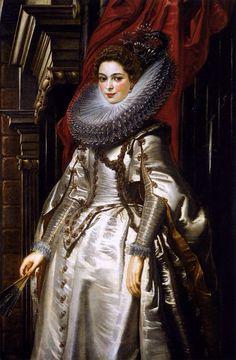 """Portrait of Marchesa Brigida Spinola-Doria"" - Peter Paul Rubens, 1606"