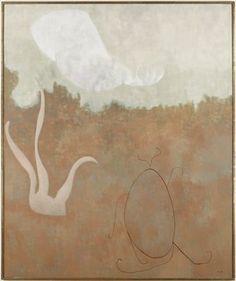William Baziotes (US 1912–1963), Red Landscape, o/c, 1957. Collection Minneapolis Institute of Art.