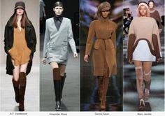 En tonos tierra y combinables con cualquier color de invierno. Fall 2015/ trends
