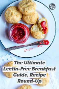 15 lectin-free breakfast recipe and more ideas for starting the day with a healthy meal. Lectin Free Foods, Lectin Free Diet, Breakfast Bites, Free Breakfast, Healthy Dinners, Healthy Food, Healthy Recipes, Plant Paradox Diet, A Food