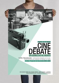 Flyer | ONG Movimiento Ecológico by Vero Papasidero, via Behance