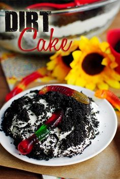 Dirt Cake is unbelievably delicious.  I made this for a 4th of July party and it was definitely a hit!  It didn't only take 15 minutes like it claimed but it was still great and easy to make.