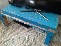 Tv tafel drijfhout