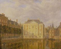 Veduta del Mauritshuis, Augustus Wijnantz (1830 ca)   See more at:  http://www.tripartadvisor.it/la-ragazza-con-lorecchino-di-perla-palazzo-fava/