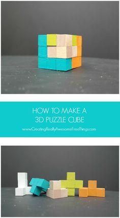 How to make a 3D puz