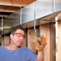 Hire a Pro to Design Your HVAC System - 14 Basement Finishing Tips: http://www.familyhandyman.com/basement/basement-finishing-tips
