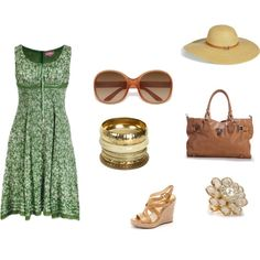 Easy Street Tourist, created by doorite on Polyvore