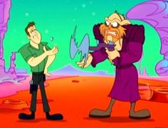 Farscape, in Warner Brothers (Chuck Jones) style... pure AWESOME!