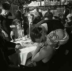 Photo by Larry Fink, George Plimpton at Elaine's, NYC, January 1999 © Larry Fink