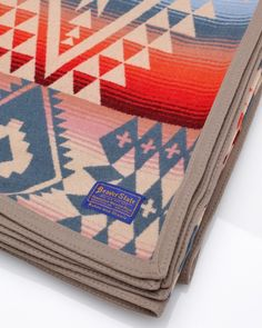 We love these beautiful wool blankets by Pendleton!